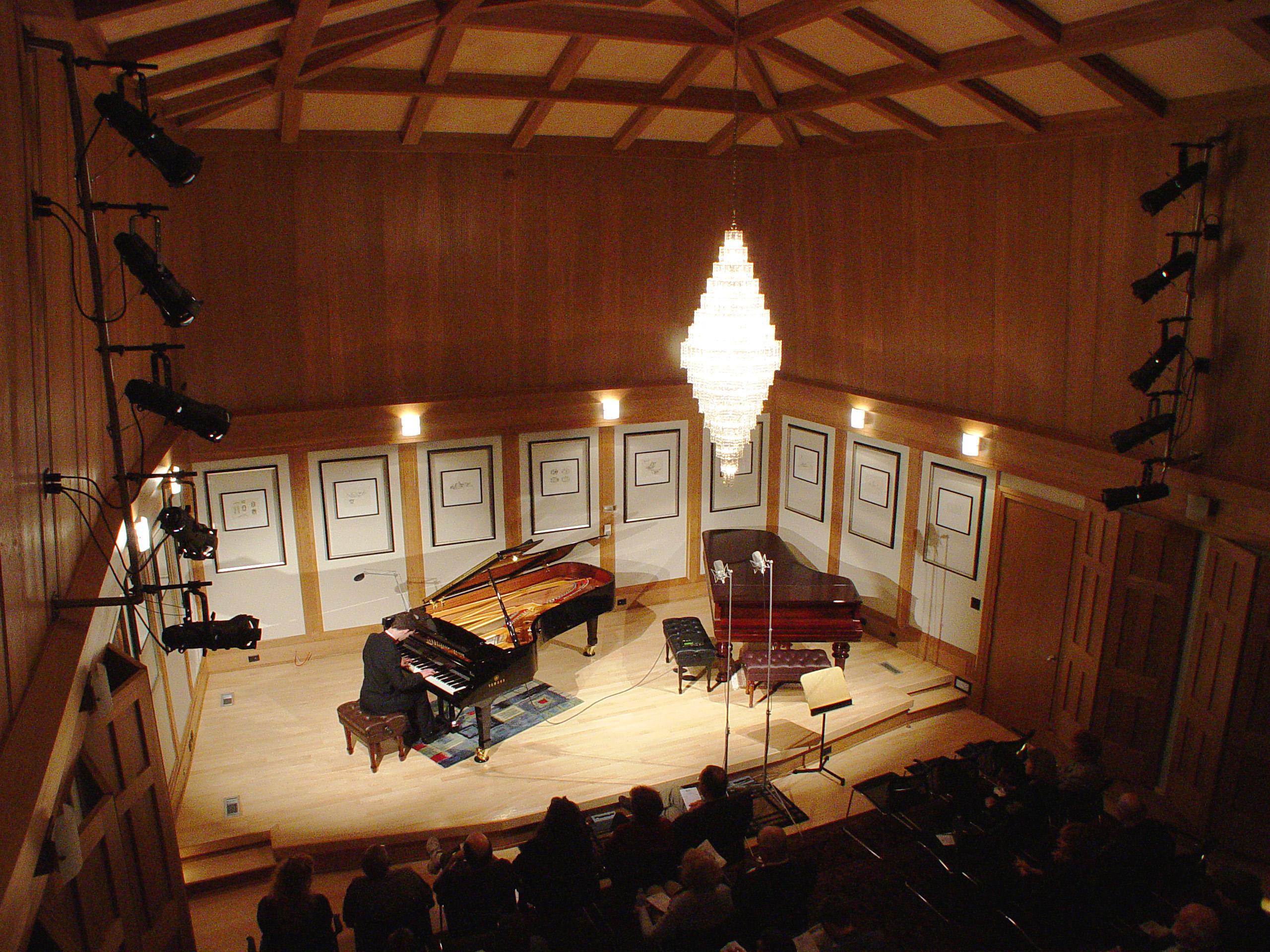 John Q. Walker recital in Raleigh North Carolina